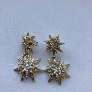 Baublebar Celestial Drops Gold Earrings